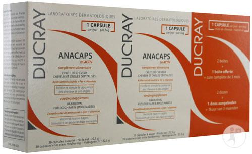 2908523 ducray anacaps tri activ caps 3 30 nl 500 veronique. Black Bedroom Furniture Sets. Home Design Ideas