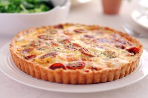 Tomato cheese pie