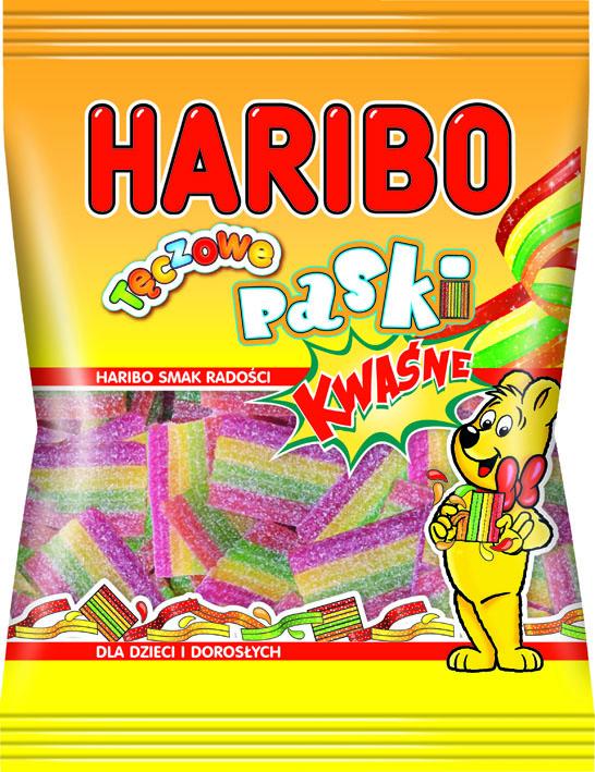 hariboTeczowePaskiKwasne