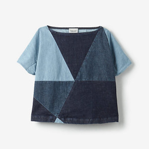 Steven Alan patchworkowy top
