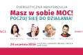 """24 września – """"Poczuj siłę do działania!"""" – ruszają zapisy na wrześniową konferencję z cyklu Masz w sobie Moc!"""