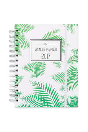 Green Forest Wonder Planner