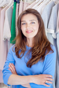 Aneta Ryfczyńska, stylistka, trenerka wizerunku, autorka książek dla dzieci