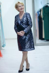 Krystyna Bałakier, blogerka modowa 50+, fot.: Luiza Różycka
