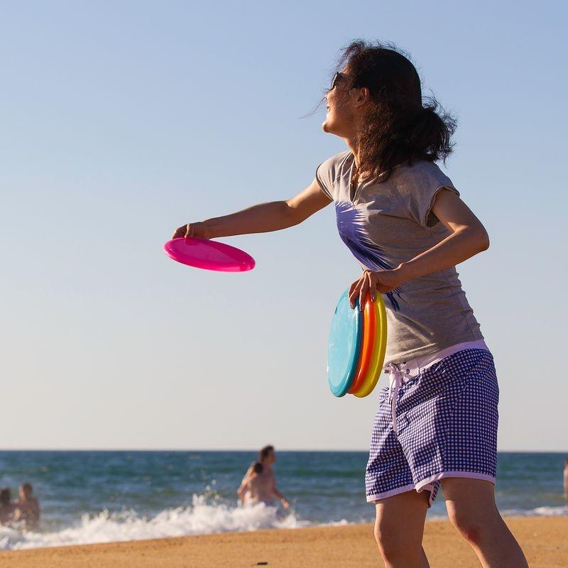 Decathlon, frisbee, materiały prasowe