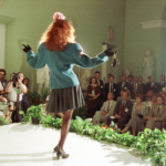 Chris Niedenthal_zdjęcie z pokazu mody z udziałem Raisy Gorbaczow i Barbary Jaruzelskiej (Copy)